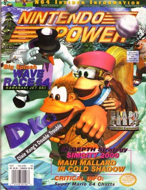Nintendo Power Volume 90 Donkey Kong Country 3