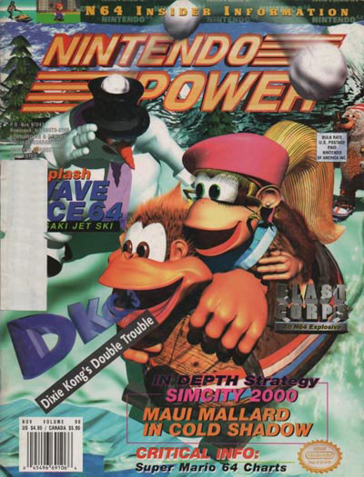 Nintendo Power Volume 90 Donkey Kong Country 3