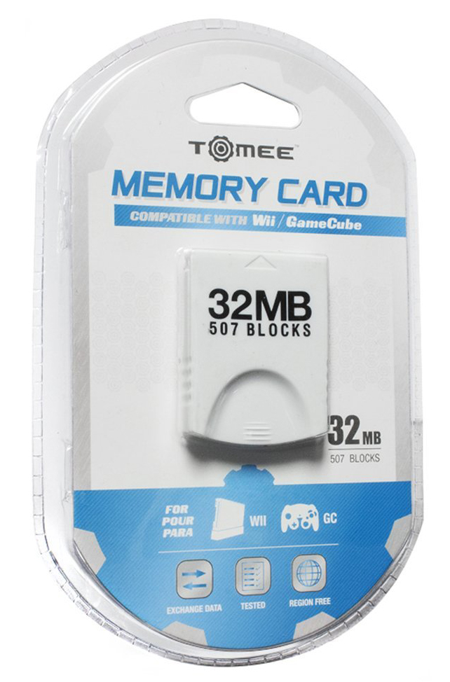 GameCube 32MB Memory Card