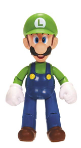 World of Nintendo 4 Inch Figures Wave 4 Luigi