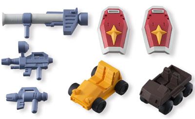 Mobile Suit Gundam Build Model Accessory Kit
