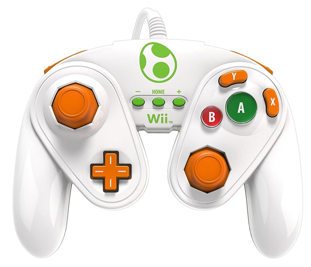 Wii U Yoshi Wired Fight Pad