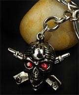 One Piece: Skull & Crossbones Keychain