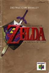 Legend of Zelda: Ocarina of Time (Instruction Manual)