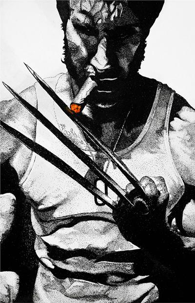 Wolverine Digital Print
