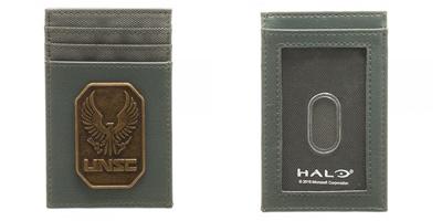Halo Brass Badge Frontpocket Wallet