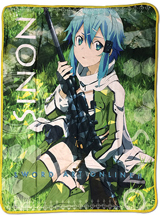 Sword Art Online II Sinon Sublimation Throw Blanket