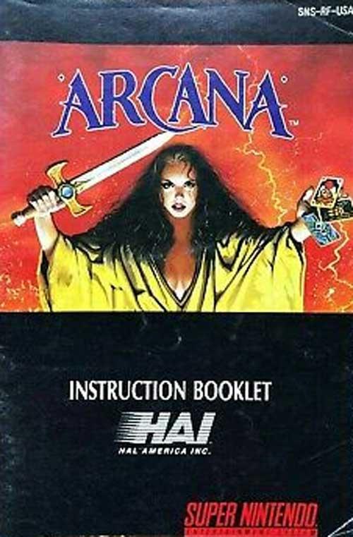 Arcana (Instruction Manual)