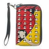 Spiderman Studded Zip Around Wallet