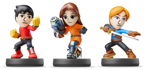 Mii Fighter Amiibo 3-Pack