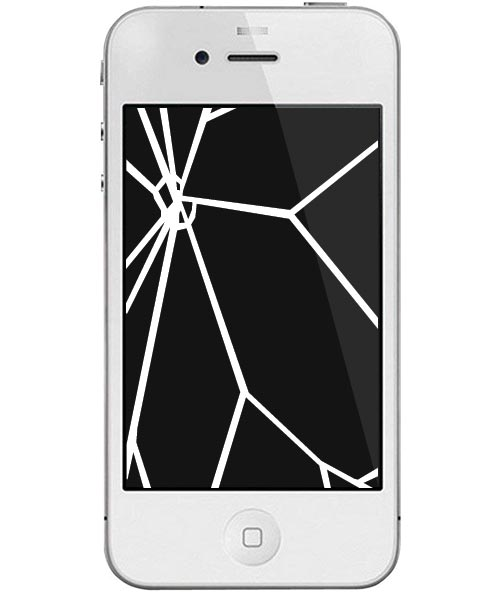 iPhone 4 Repairs: Glass & LCD Screen Replacement Service White