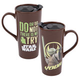 Star Wars Yoda Heat Reactive 20oz Ceramic Travel Mug