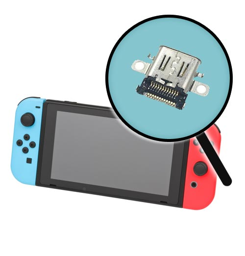 Nintendo Switch Charging Port Replacement Service