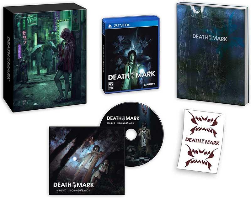 Death Mark Limited Edition all bonus material for PSVita
