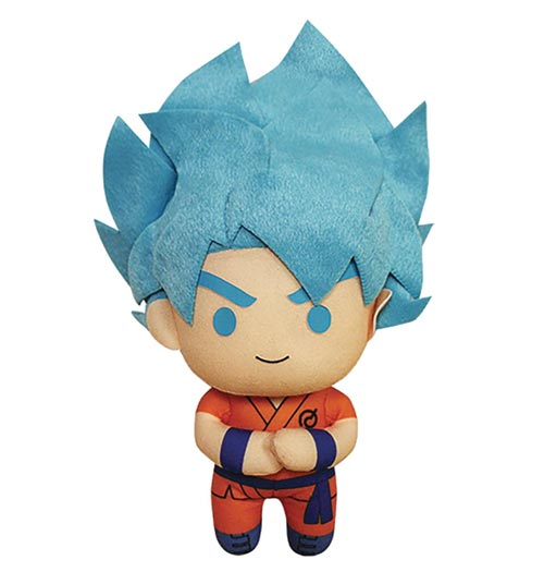 Dragon Ball Super Saiyan God Super Saiyan Goku 6.5 Inch Plush