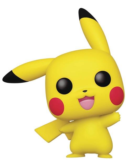 Pop Games Pokemon Pikachu Vinyl Figure