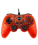 PlayStation 3 Wired Controller Clear Red by TTX