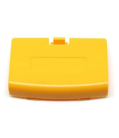 Game Boy Advance Replacement Yellow Battery Cover