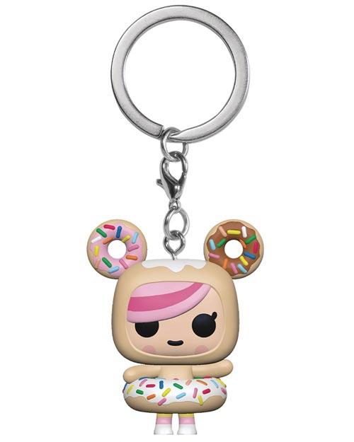 Pocket Pop Tokidoki Donutella Keychain