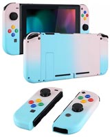 Nintendo Switch Housing Shell Replacement Service Pink & Blue Gradient