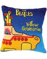 Beatles Tapestry Yellow Submarine Tapestry Cushion