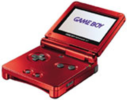 Nintendo Game Boy Advance SP Flame Red