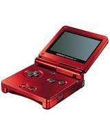 Nintendo Game Boy Advance SP Flame Red System Trade-In