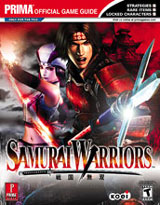 Samurai Warriors Official Strategy Guide