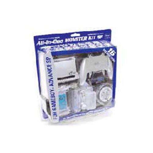 Gameboy Advance SP Naki All-In-One Monster Kit SP
