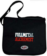 Courier^3 Fullmetal Alchemist Logo Black Courier Bag
