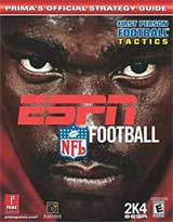 ESPN NFL Football 2K4 Official Strategy Guide Book