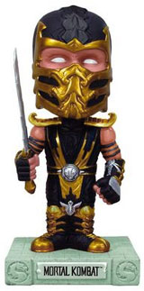 Mortal Kombat Scorpion Bobblehead