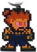 Street Fighter IV Akuma 8-Bit Keychain