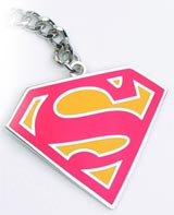DC Heroes Superman Red Keychain