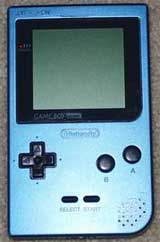 Nintendo Game Boy Pocket System Ice Blue