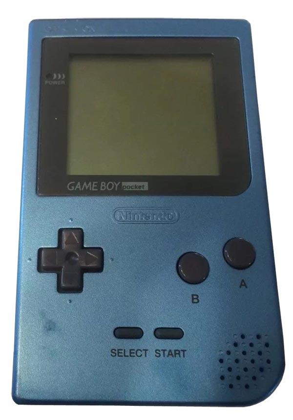 Nintendo Game Boy Pocket System Ice Blue