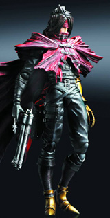 Final Fantasy VII Advent Children Play Arts Kai Vincent Action Figure