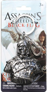 Assassin's Creed IV Edward Metal Keychain