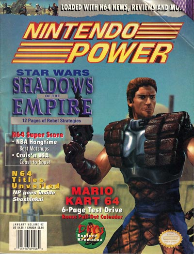 Nintendo Power Volume 92 Star Wars: Shadows of the Empire