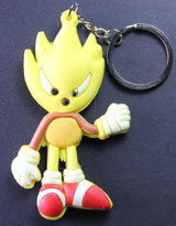 Sonic the Hedgehog: Golden Sonic PVC Keychain
