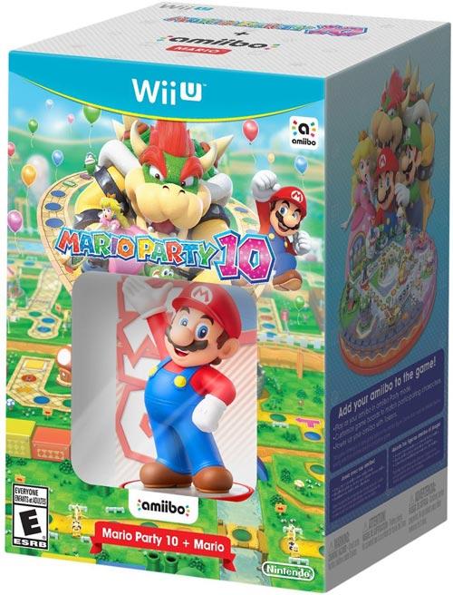 Mario Party 10 & Mario amiibo Bundle