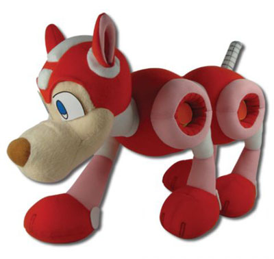 Megan Man 10: Rush 10 Inch Plush