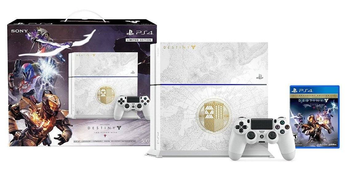 Sony Playstation 4 500GB Destiny: The Taken King Limited Edition Bundle