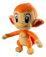 Pokemon Trainers Choice 6 Inch Chimchar Plush
