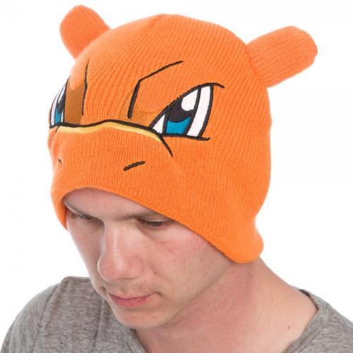 Pokemon Charizard Bigface Beanie