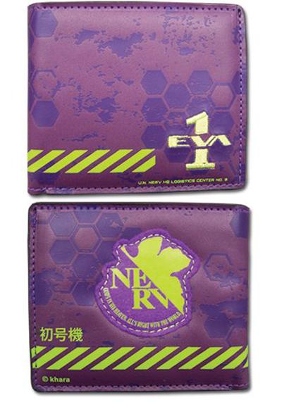 Evangelion New Movie 01 Bi-Fold Wallet