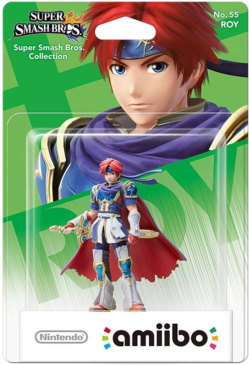 amiibo Roy Super Smash Brothers Series