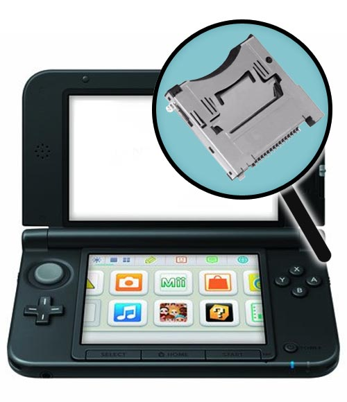 Nintendo 3DS XL Repairs: Cartridge Slot Replacement Service