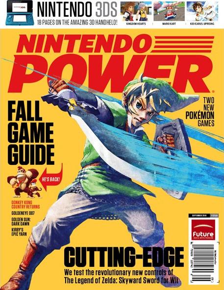 Nintendo Power Volume 258 The Legend of Zelda Skyward Sword