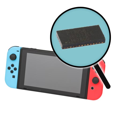 Nintendo Switch Blank Screen Repair Service
